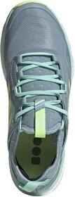 adidas TERREX Agravic Speed GTX Schuhe Damen glossy bluefootwear whitehi res coral